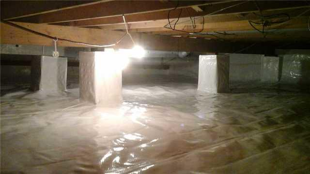 Waterproofing a Crawl Space in Blackwood, NJ