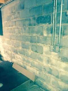 Improved Foundation Wall Integrity in China Grove North Carolina - Before Photo