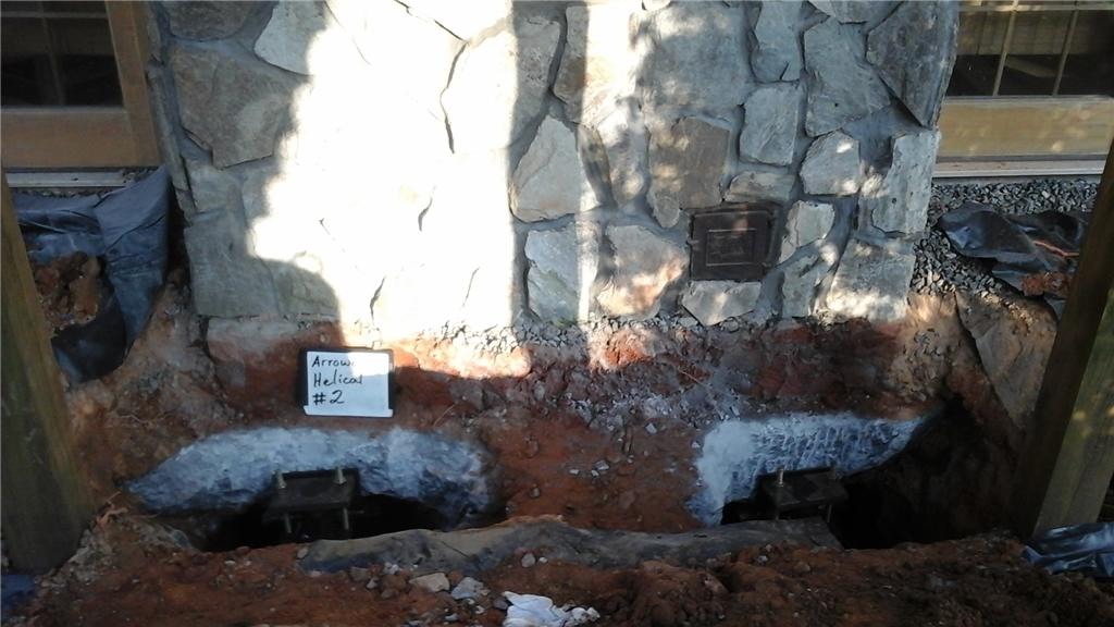 Chimney Foundation Support in Mooresboro, NC - Before Photo