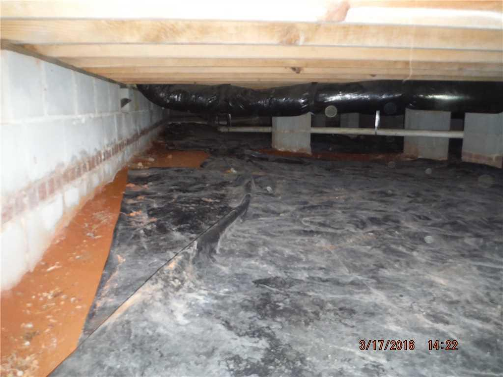 CleanSpace System installed in Woodleaf, NC - Before Photo