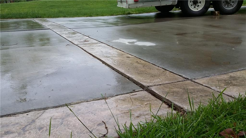 Concrete Lifting in Salisbury, NC - Before Photo