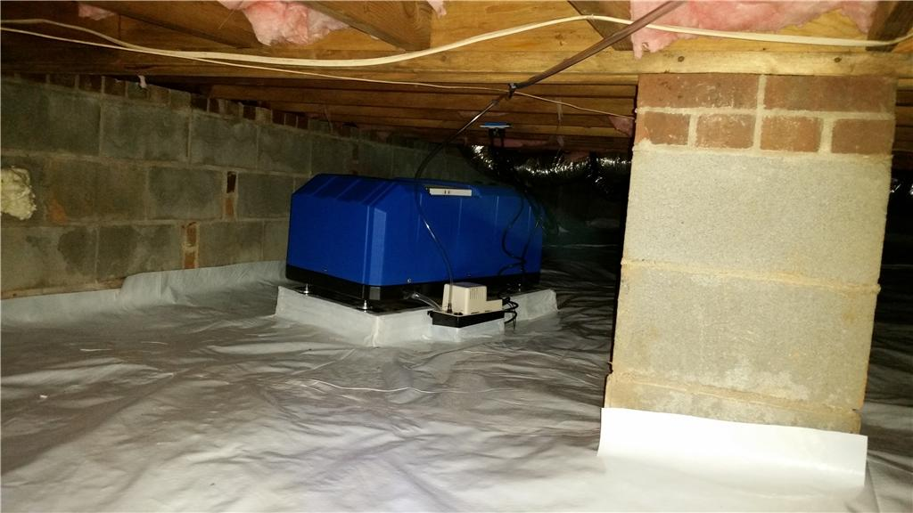 Mold Remediation & Encapsulation in Granite Quarry, NC - After Photo