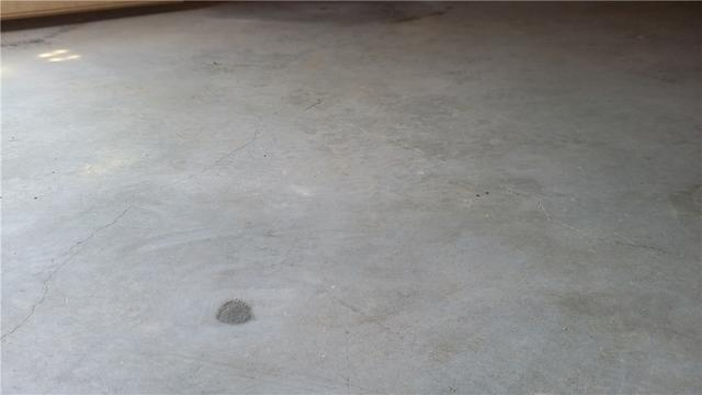 Void Under Basement Concrete Floor in Lenoir, NC