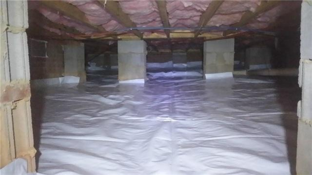 Wet Crawl Space Repair Weddington, NC