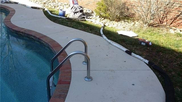 Sinking Pool Deck in Waxhaw, NC