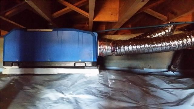 Crawl Space Water Problems in Cornelius,NC