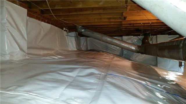 Full Crawl Space Encapsulation in Gastonia NC