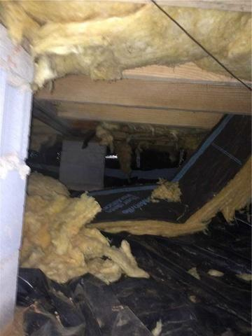Crawl Space Encapsulated at Waterfront Property in Denver, NC
