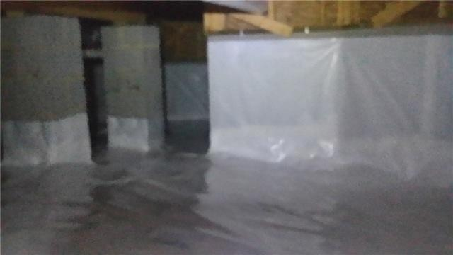 High Moisture content in crawl space Mooresville, NC