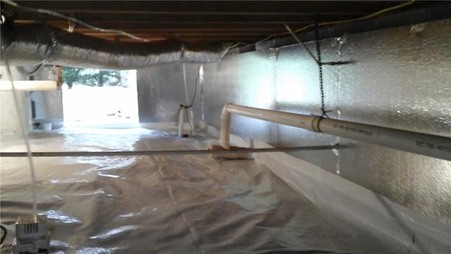 Crawl Space Encapsulation and Mold Remediation and in Hickory, NC