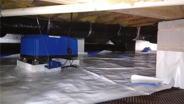 Crawlspace Encapsulation in Pineville, NC