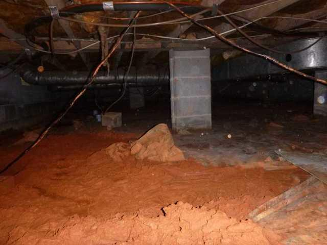 Dirt Crawl Space Encapsulation in Valdese, NC