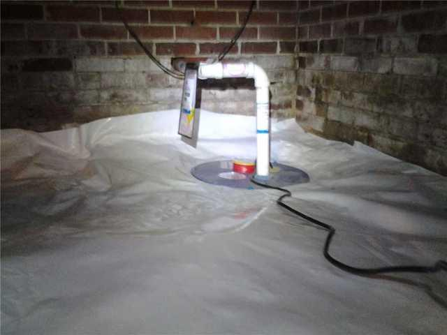 Controlling Water in Albermarle, NC Crawlspace