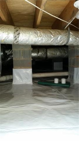 Crawlspace Encapsulation in Lake Norman, NC