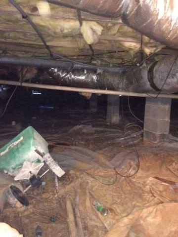 Basement Waterproofing in Salisbury, NC