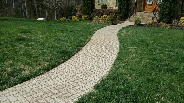 Leveling Walkway in Fort Mill, SC