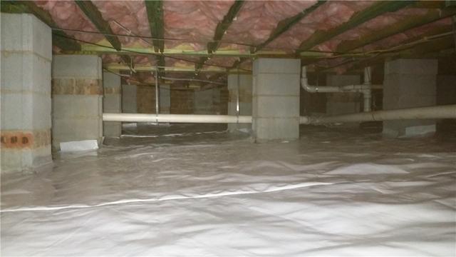 Crawlspace Improvements in Davidson, NC