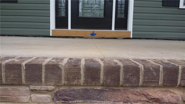 Stoop Lifted in Rockwell, NC - Before Photo