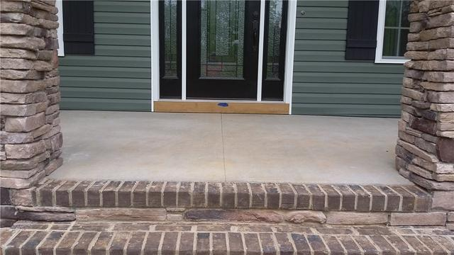 Stoop Lifted in Rockwell, NC - After Photo
