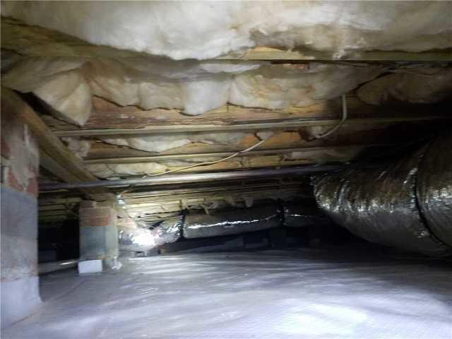 Crawlspace Moisture and Structural Repair in Alexis, NC