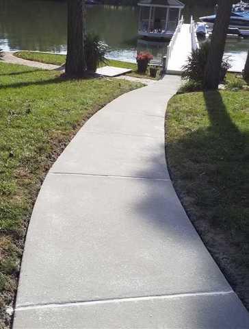 Sidewalk Repair in Mooresville, NC
