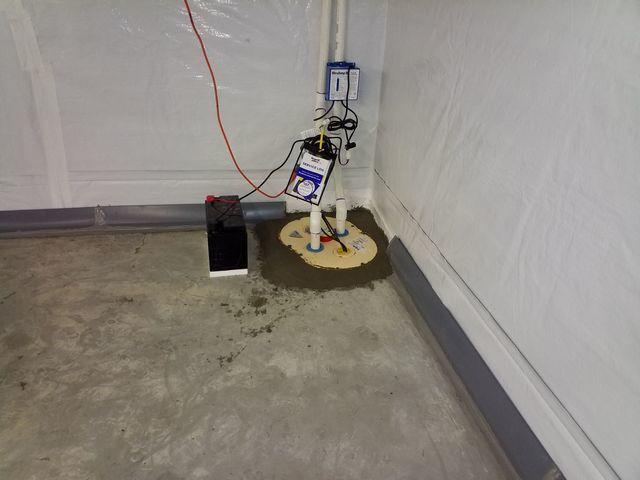 Basement Waterproofing in Indian Trail, NC