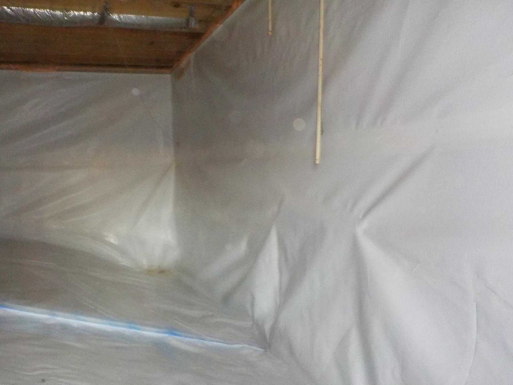 Clean Crawl Space in Monterey TN - After Photo