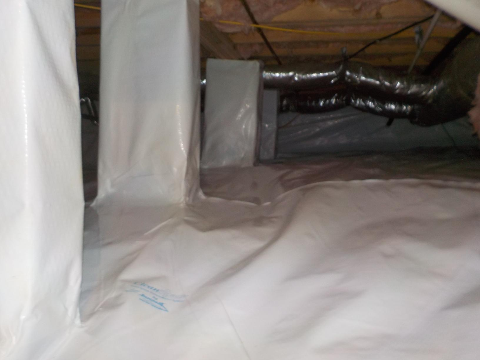 Sealed Crawl Space in Estill Springs, TN - After Photo