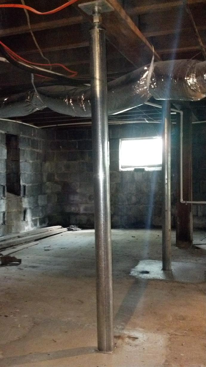 Foundation Settling in McMinnville, TN! - After Photo