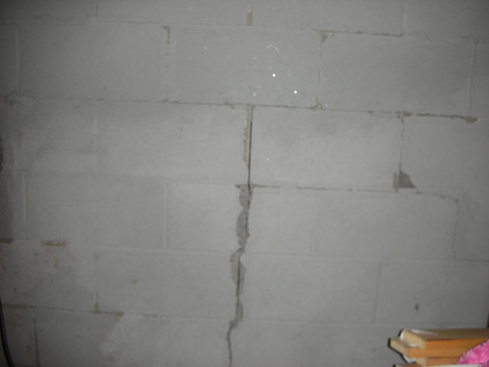 Wall Anchors in Glasgow, KY - Before Photo