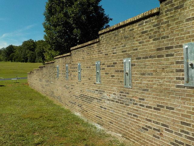 Strengthening Retaining Walls in McMinnville, TN - After Photo