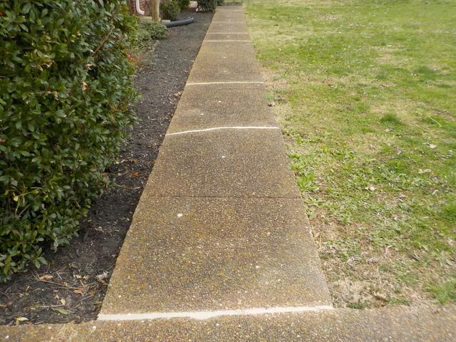 Cracked Sidewalk Fixed in Nashville, TN