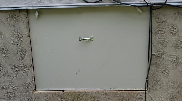 Maintenance-Free EverLast Crawl Space Door Installed in Antioch, TN