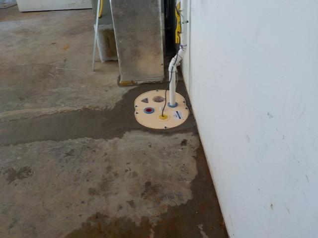 Basement Waterproofing in Glasgow, KY - After Photo