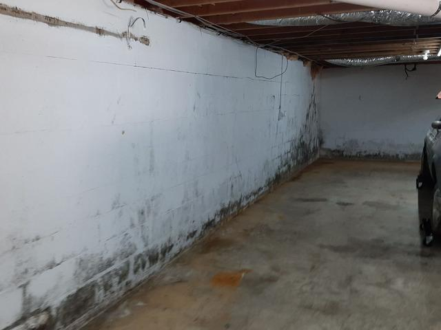 Foundation Wall Support in Cookeville TN - Before Photo