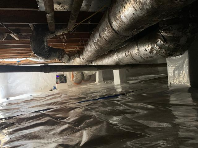 Nasty Crawlspace to Beautiful Healthy Space in Ashland City