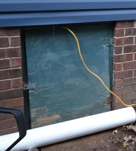 Airtight Sealed EverLast Crawl Space Door Installed in Joelton, TN