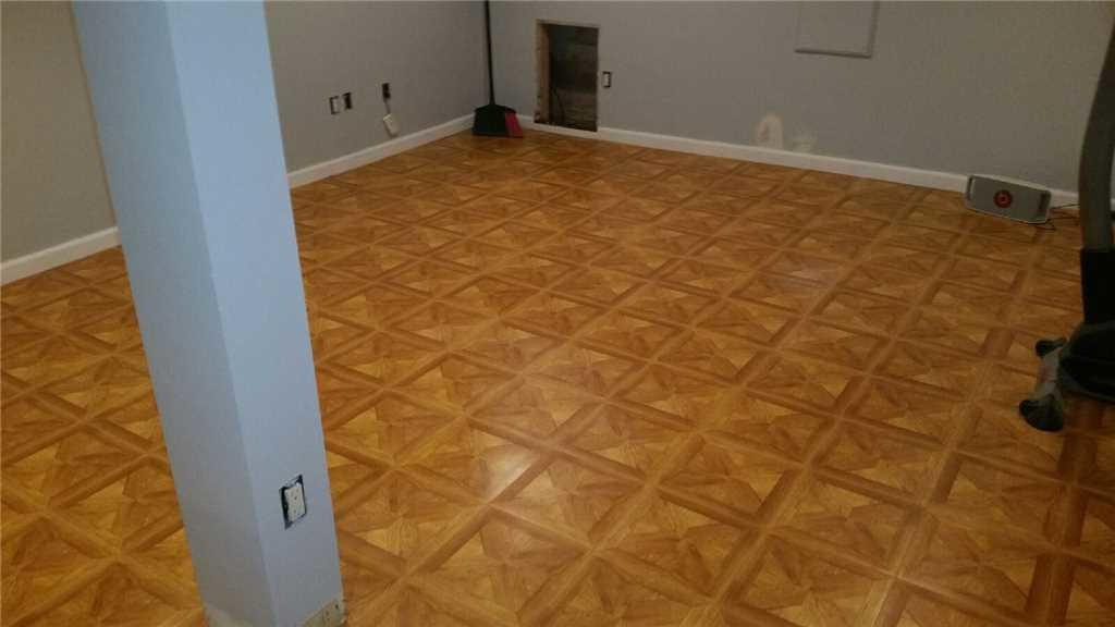 ThermalDry® Flooring Installed in Lloyd Harbor, NY - After Photo