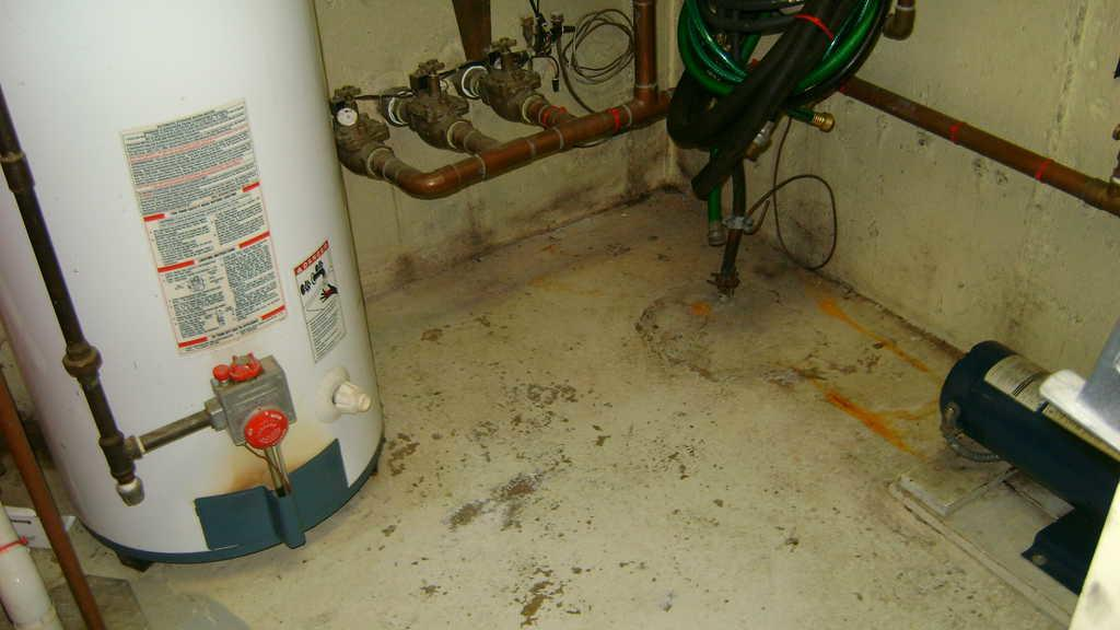 TripleSafe Pump System Installed in Oceanside NY - Before Photo