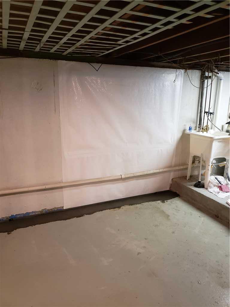 Waterproofing in West Hempstead - After Photo