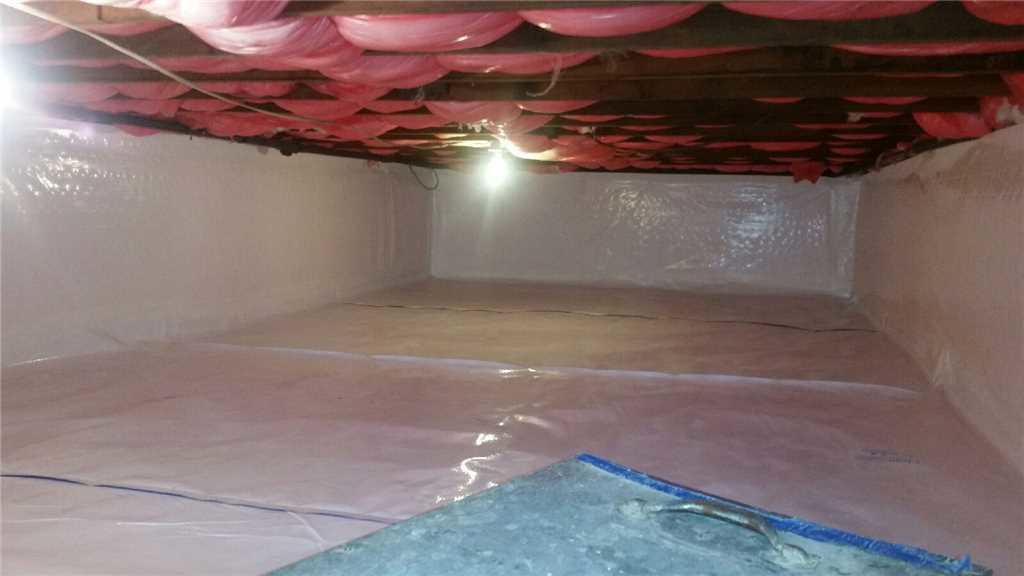 Damp and Musty Crawlspace Fixed in Oceanside, NY - After Photo