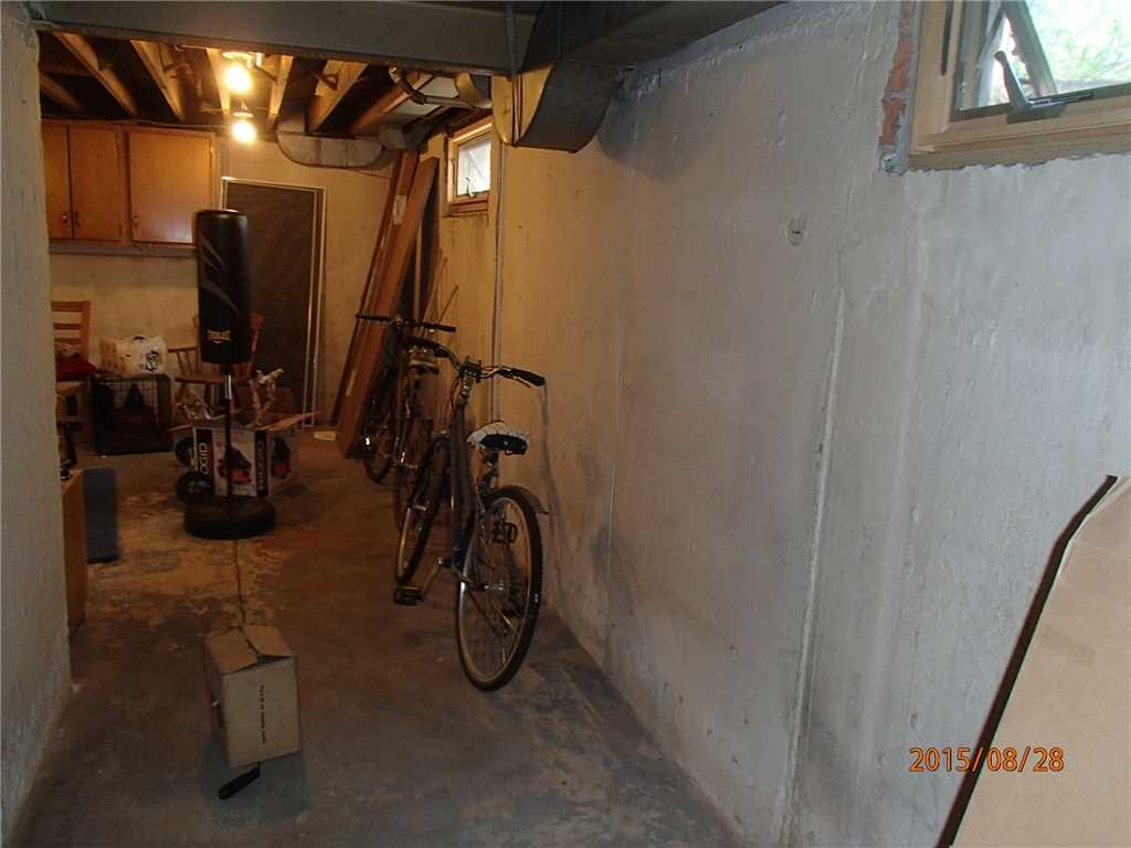 BrightWall Installed in Manhasset, NY Basement - Before Photo