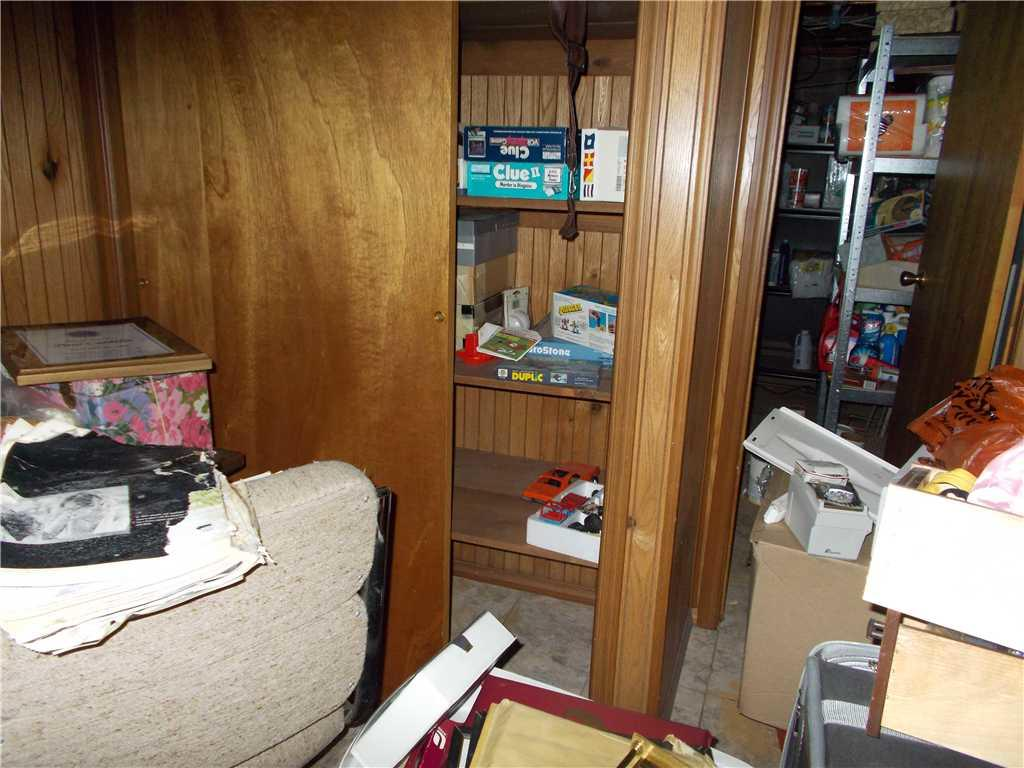 It's so nice to give your basement a makeover - Before Photo