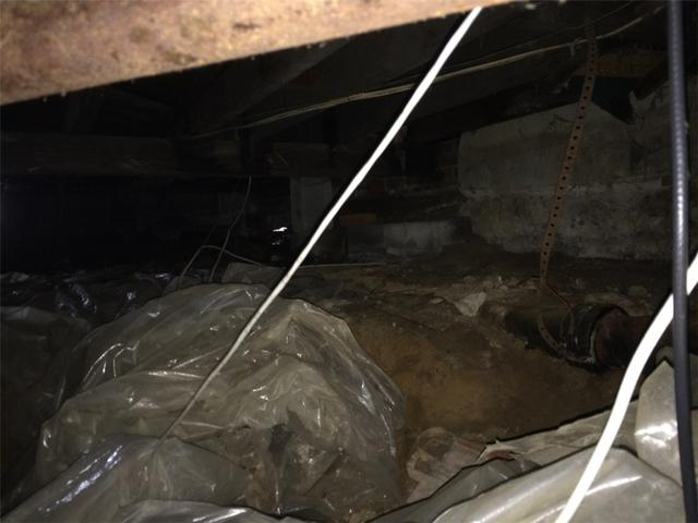 Dirty Crawlspace Cleaned and Insulated in Bohemia, NY