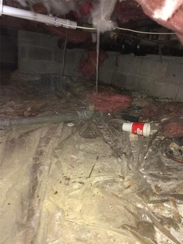 Damp Smelly Crawlspace Fixed in Sayville, NY
