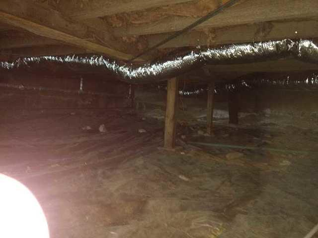 Crawlspace Clean and Dry in Glen Head, NY