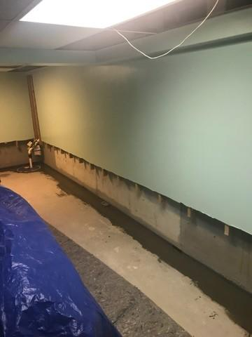Waterproofing A Finished Basement In Commack, NY