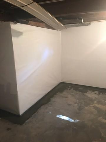 Basement Waterproofed and Walls Encapsulated in Franklin Square NY