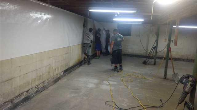 Before & After of Mold Removal & Waterproofing Job in East Moriches, NY