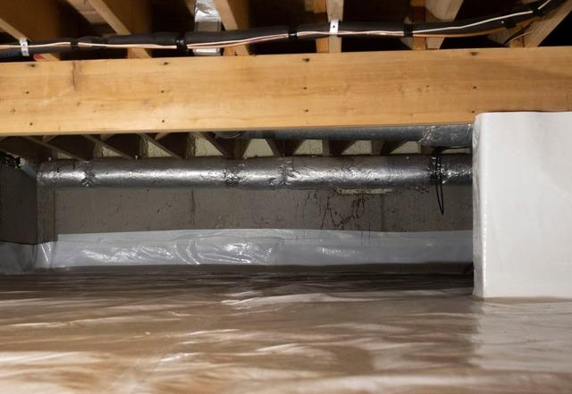 Westhampton Crawl Space Insulation